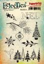 Eclectica³ Rubber Stamp Sheet by Lin Brown - ELB10